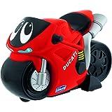 Chicco - Motocicleta Turbo Touch Ducati, recorre más de 10 metros, color rojo
