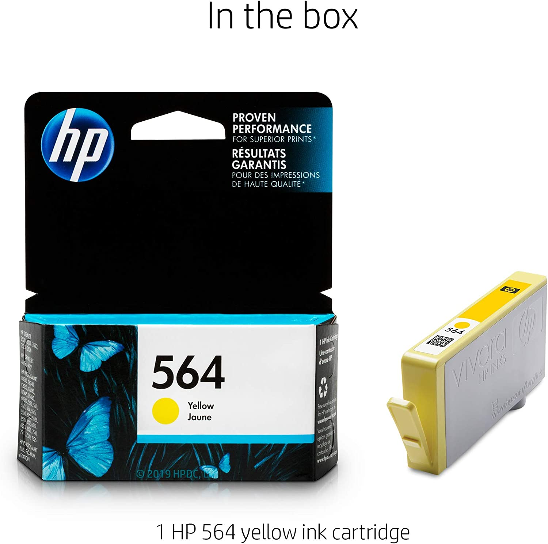 CB316WN GENUINE NEW GENERATION HP 564 Black Ink Cartridge 2-Pack