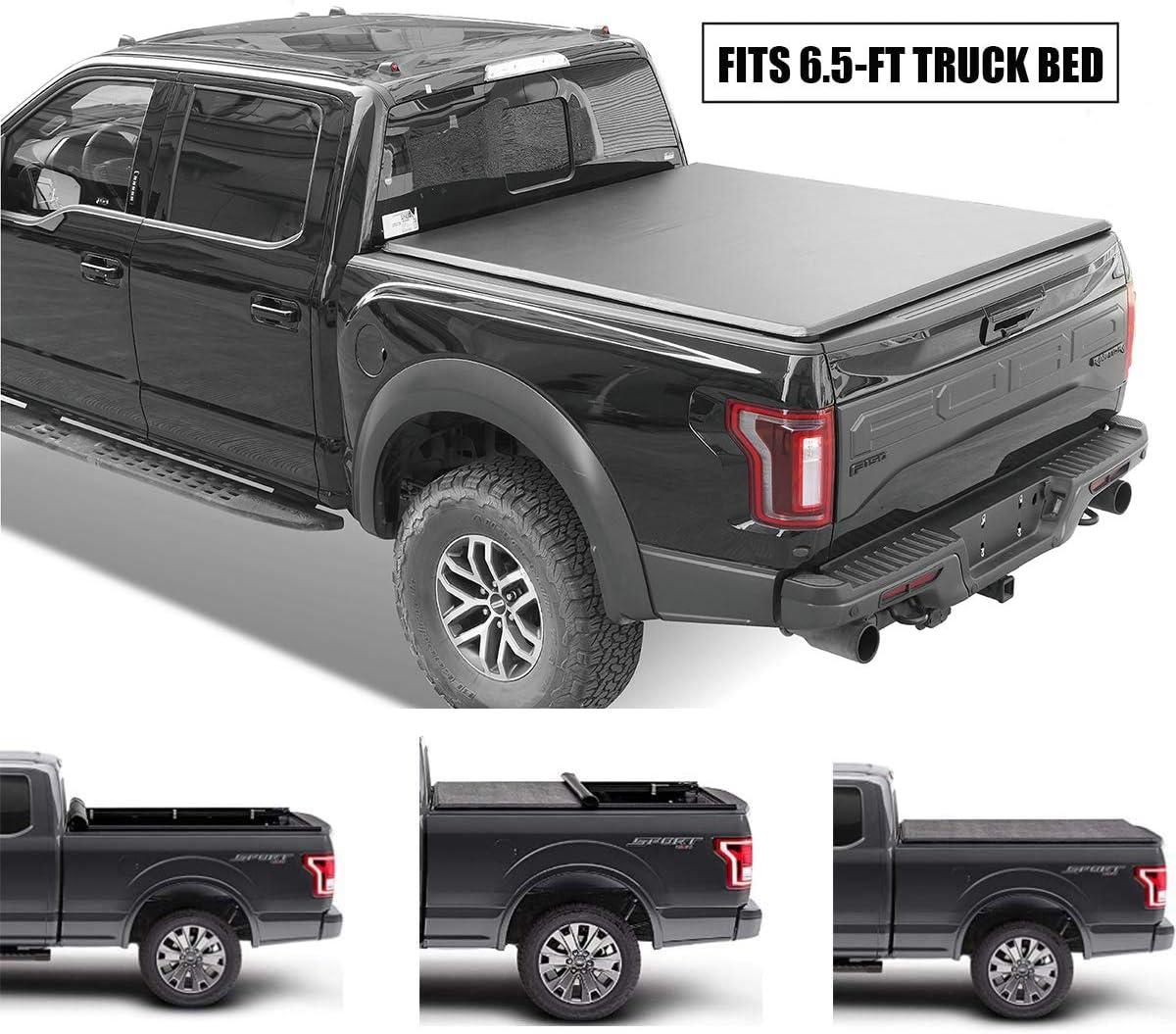 Gevog Soft Roll-Up Truck Bed Tonneau Cover