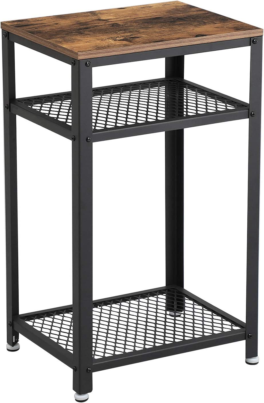 - Amazon.com: VASAGLE Industrial Side Table, End Telephone Table