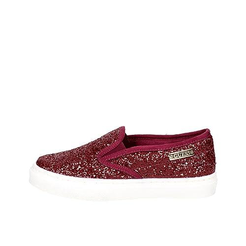Guess - Zapatillas para mujer granate, color, talla 37: Amazon.es: Zapatos y complementos