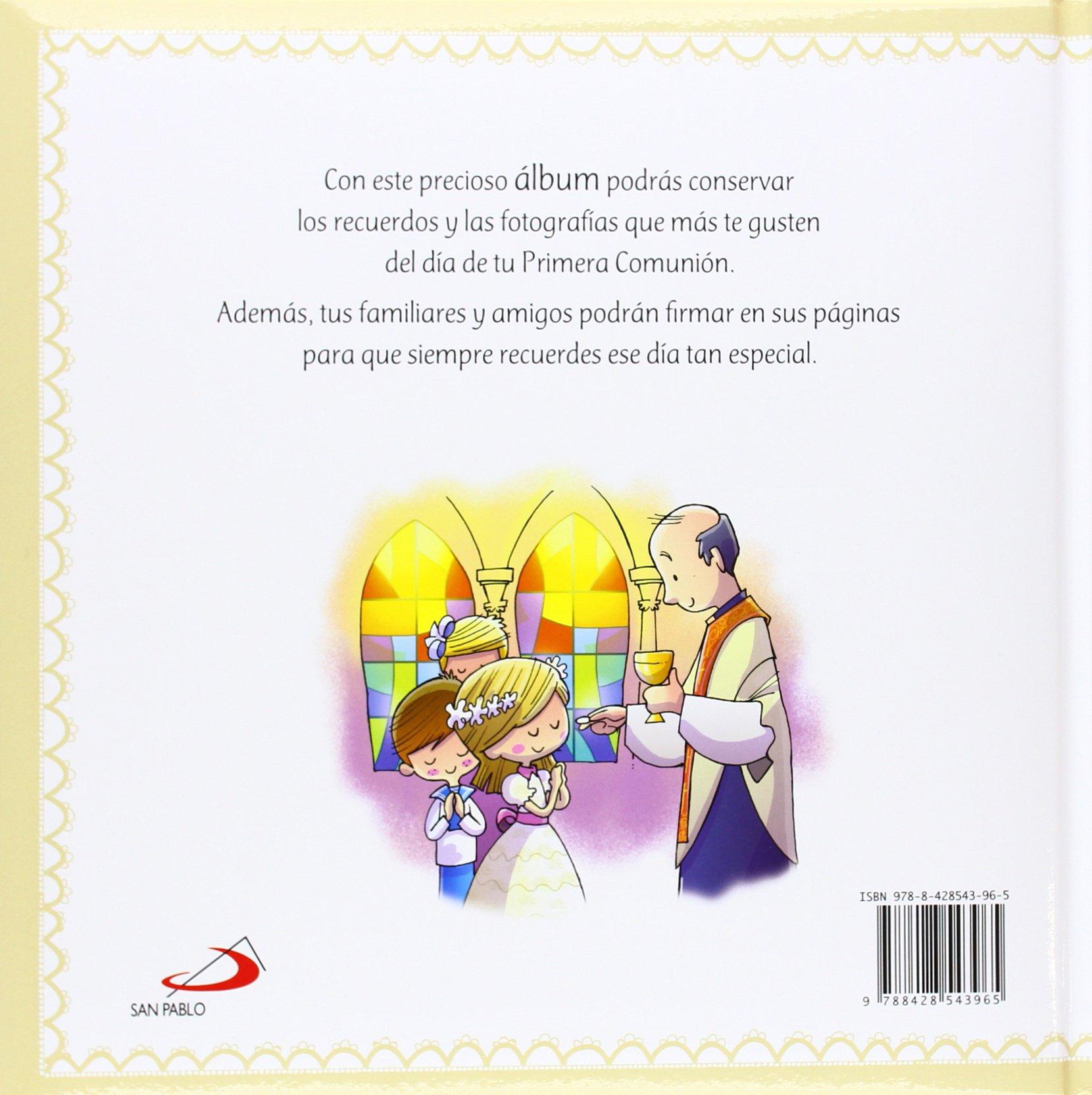 álbum De Mi Primera Comunión Primeras Comuniones Amazon