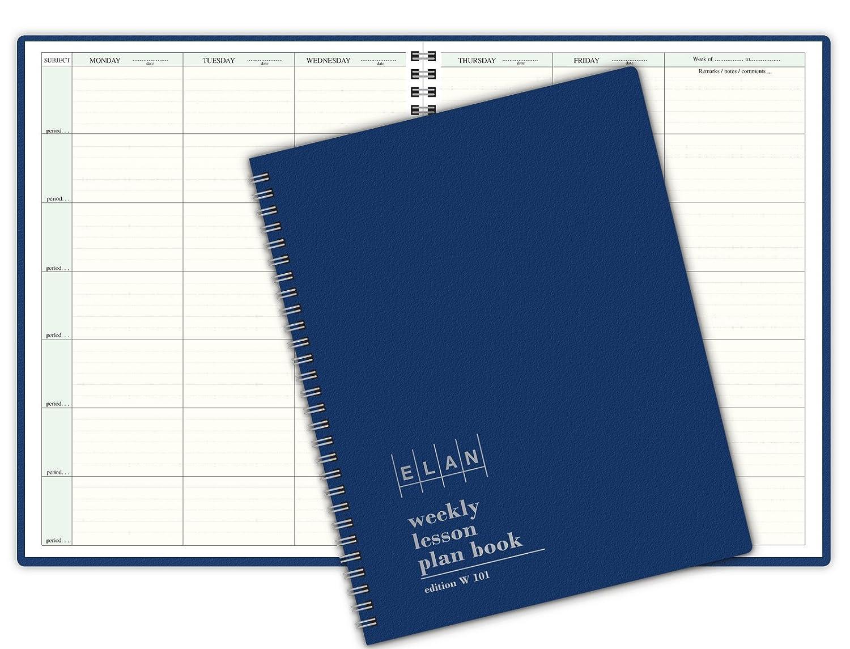 80%OFF 7 Period Teacher Lesson Plan; Days Horizontally Across the Top (W101)