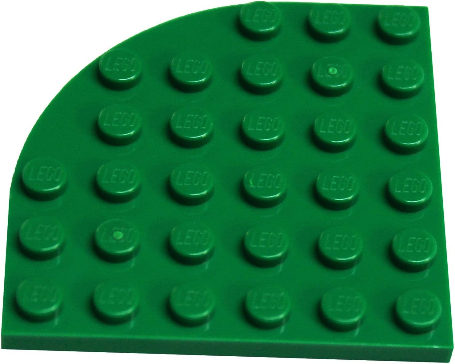 LEGO Parts and Pieces: Green 6x6 Round Corner Plates x20