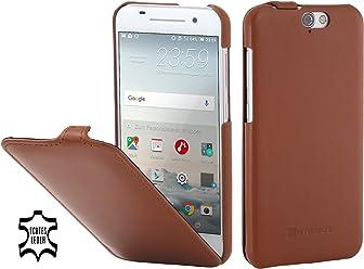 StilGut UltraSlim, housse en cuir pour HTC One M8 & M8s & M9 & A9
