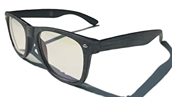 Computer Gaming/Reading/Work Glasses Anti-Blue Light Clear Lens - Reduces  Eye
