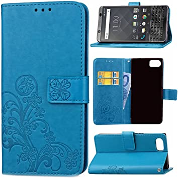 Guran® Funda de Cuero PU para Blackberry Keyone/Mercury Smartphone ...