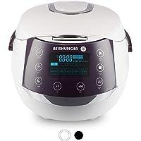 Reishunger Digitale rijstkoker (1.5l/860W/220V) Multicooker met 12 programma's, 7-fasen-technologie, premium binnenpan…
