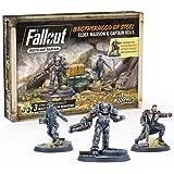 Fallout - Wasteland Warfare - Brotherhood of Steel Elder Maxon and Capt. Kells