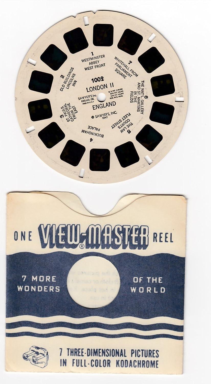 View Master Vintage 1947 1002 LONDON II