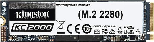 Kingston KC2000 (SKC2000M8/2000 G) M.2 2280 NVMe SSD 2000 G ...