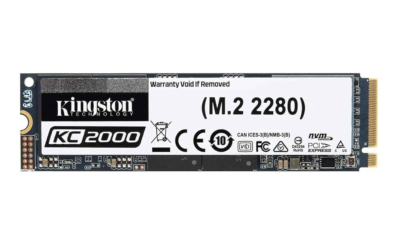 SSD M.2 2280 NVMe 2000 Gb Kingston KC2000 SKC2000M8//2000G