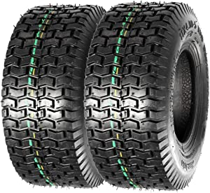 Set of 2 11x4X5 11x4.00-5 Turf Saver Lawn & Garden Tire P512 LRA