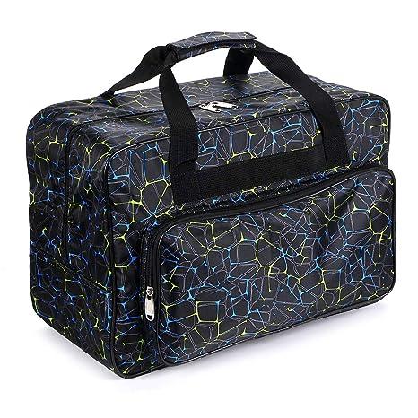 IGNPION - Bolsa de costura, color negro: Amazon.es: Hogar