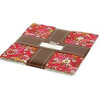 London Calling 9 Ten Square 42 10-inch Squares Layer Cake Robert Kaufman Fabrics TEN-766-42