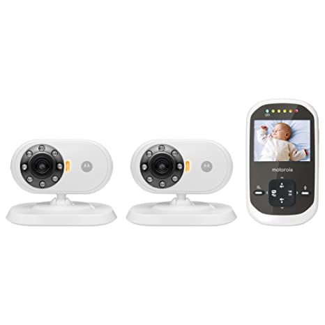 c0171872bd634 Motorola MBP25 Video Baby Monitor with 2 Cameras