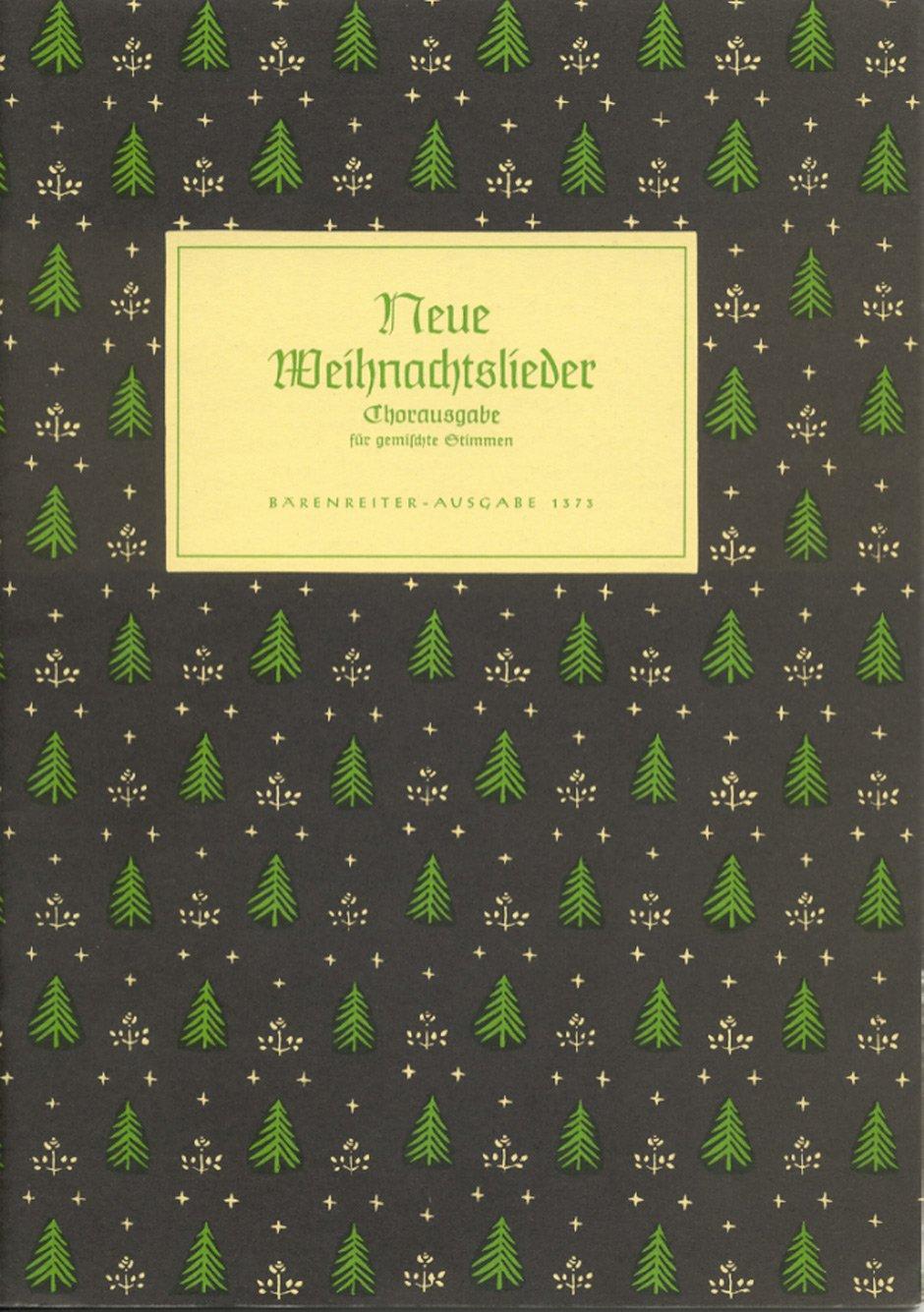 Neue Weihnachtslieder - Chorausgabe für gemischte Stimmen: Amazon.de ...