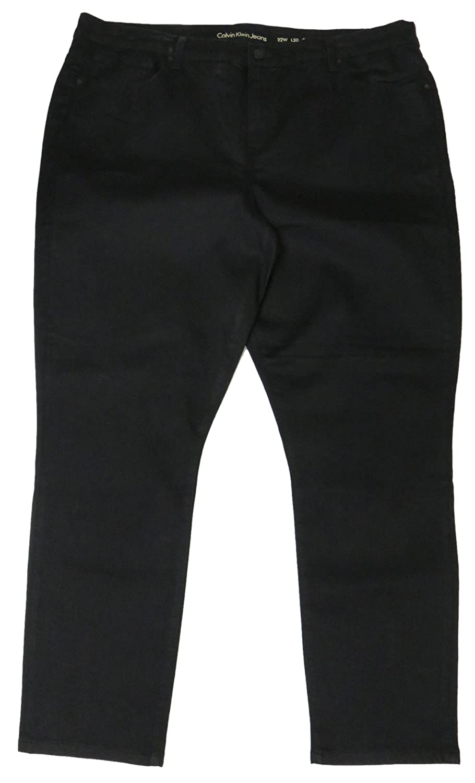 Calvin Klein Women's Jeans, Size 22/30 Curvy Skinny , Black