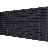 "Acoustic Foam Panels 6-Pack 2"" X 12"" X 16"" / 5cm*30.5cm*40.6cm , Ohuhu Uncompressed Pyramid 2""/ 5cm Thick Sound…"