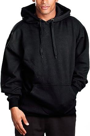 PRO 5 Mens Heavy Weight Fleece Crewneck Pullover