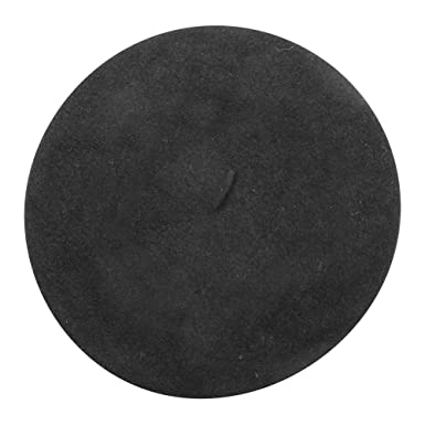 5f9dcbcec36b3 Classic French Beret (Adult)- 100% Wool - Black at Amazon Women s ...