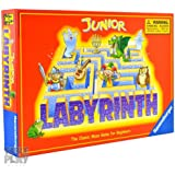 Ravensburger Labyrinth Jr. Board Game for Ages 5 & Up - Easy to Learn Board Game Made for Kids, Multi