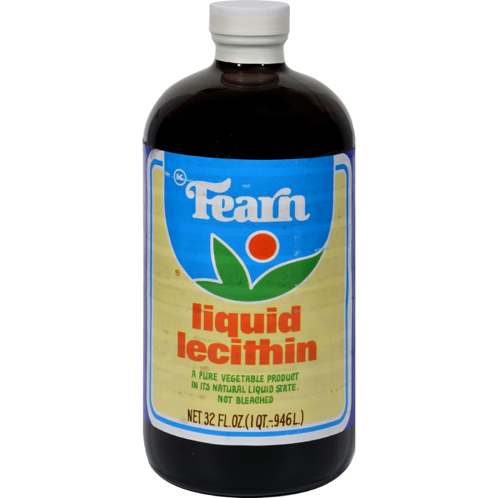 Fearn Liquid Lecithin - 32 fl oz (Pack of 4)