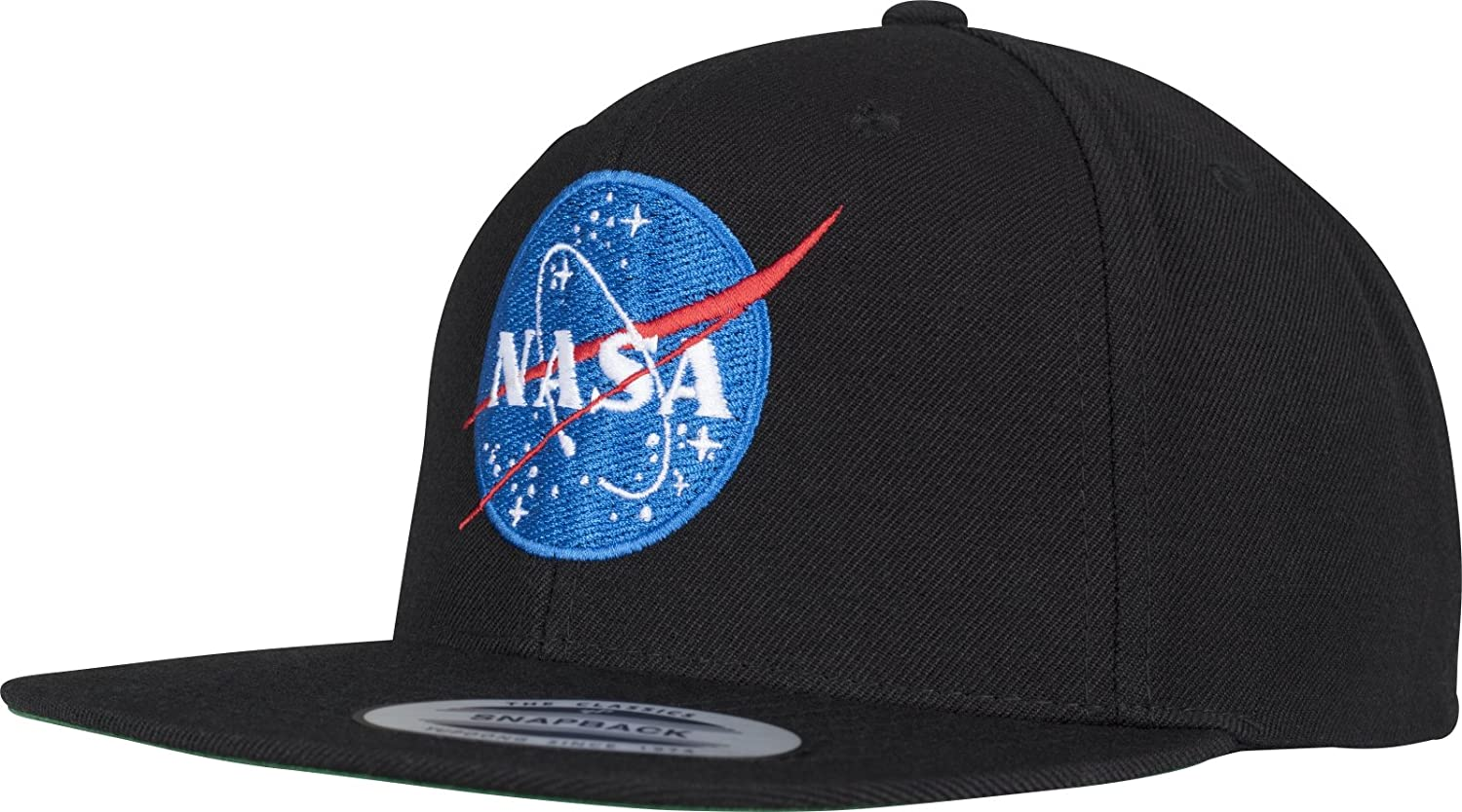 Mister Tee NASA Snapback Unisex Cap In Black For Men And Women With High  Quality Logo: Amazon.co.uk: Sports & Outdoors