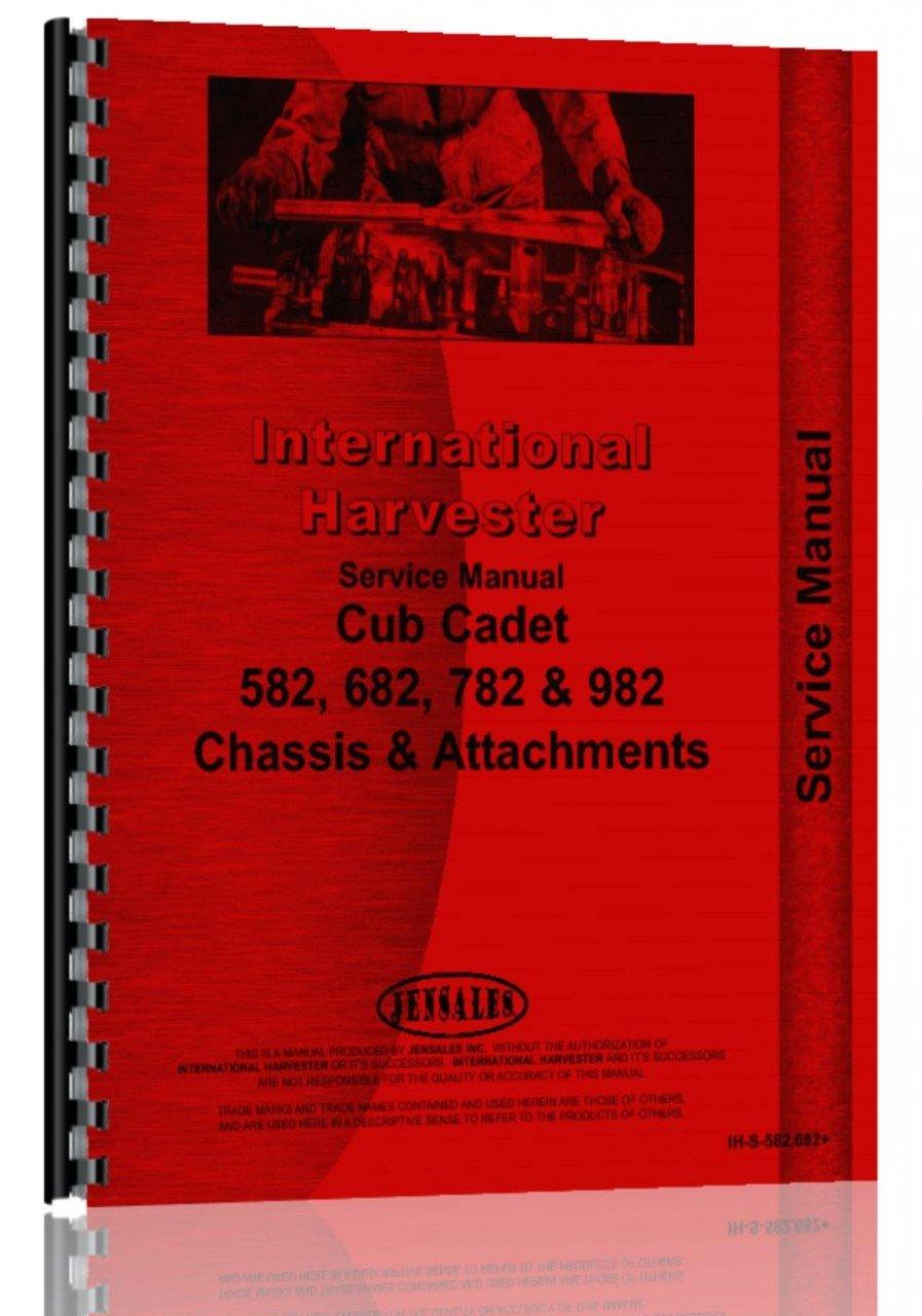 Cub Cadet 782 Manual Trusted Wiring Diagrams Diagram For International Harvester Lawn Garden Tractor Service Rh Amazon Com