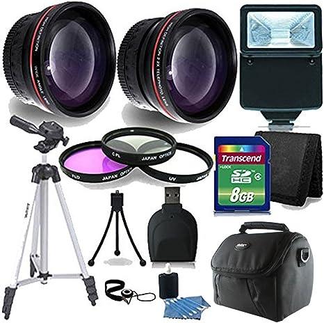 52 mm básica Starter Lente Kit de Accesorios para Nikon D3200 ...