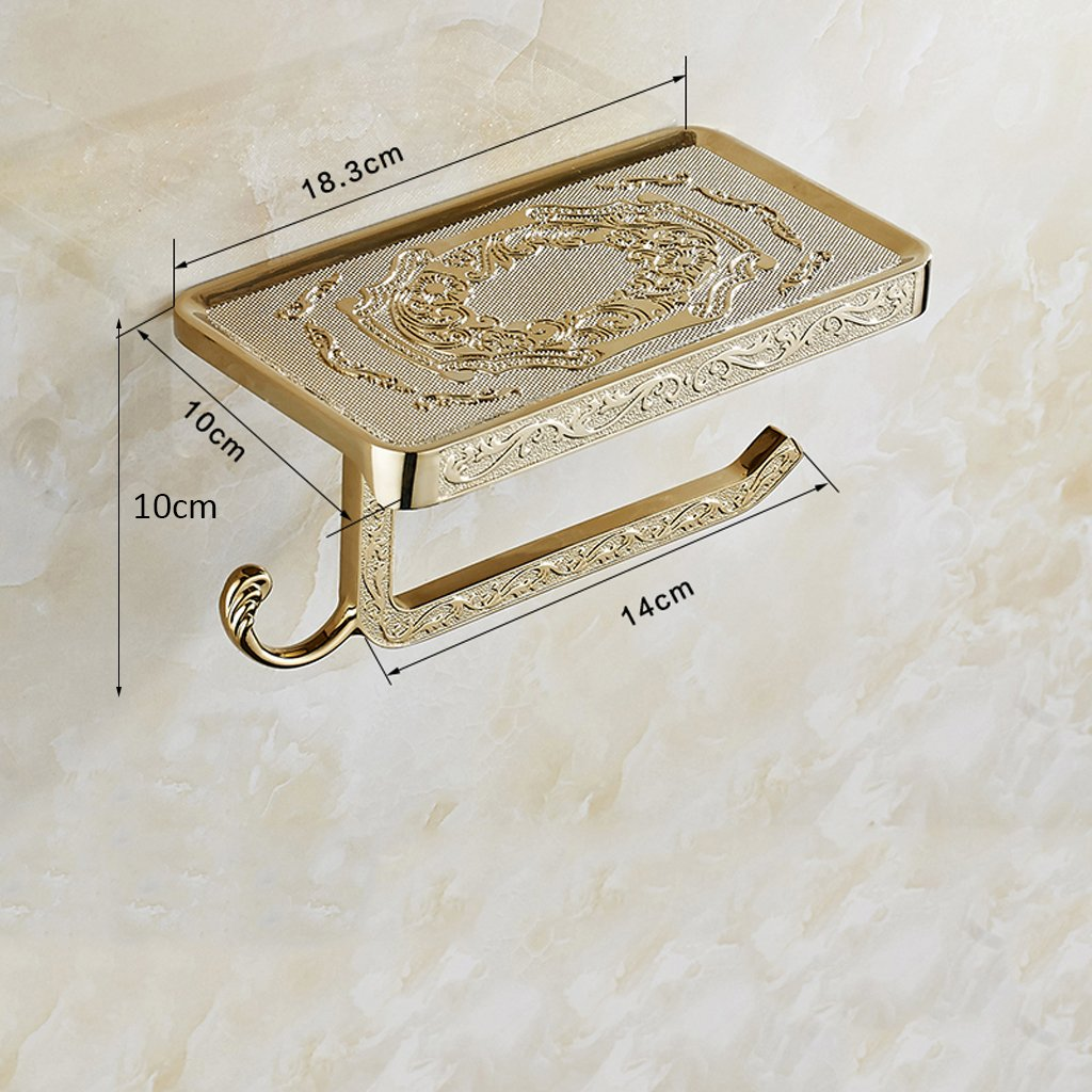 ZK-Badezimmerzubeh/ör Adelaide antike kupferne Badezimmer-Toiletten-Beh/älter-Toiletten-Beh/älter-Toilettenpapier-Rollen-Handy-Tissue-Kasten-Toilettenpapier-Tuch