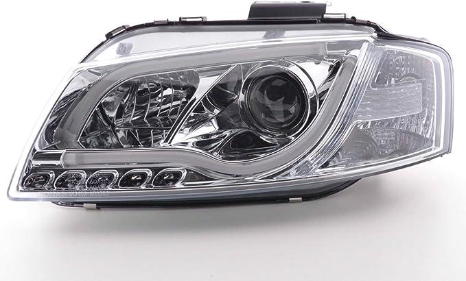 FK diurne a LED Faro Faro Anteriore per Auto Compatibile con Faro Faro Anteriore Auto lampade Illuminazione Auto Tuning Faro fksfsai13045