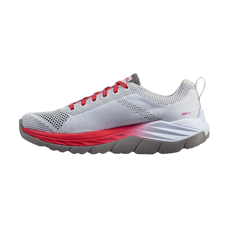 HOKA ONE ONE Women's Mach Running Shoe B072BYM3M7 9.5 B(M) US White/Hibiscus