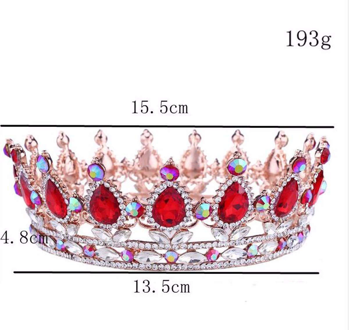 Wedding Crown, Beautiful headdress/Bridal Headwear Baroque Crystal Crown Head Ornaments Wedding Gowns And Accessories.