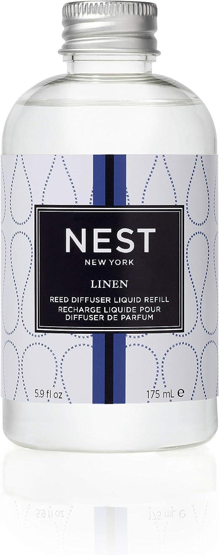 NEST Fragrances Reed Diffuser Refill, Linen