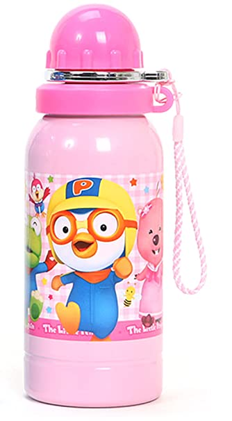 Amazon.com: Pororo Botella de agua de acero inoxidable ...