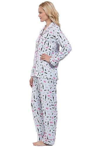 ce853afe72cc PajamaGram Ladies PJs Sets Cotton - Women Sleepwear