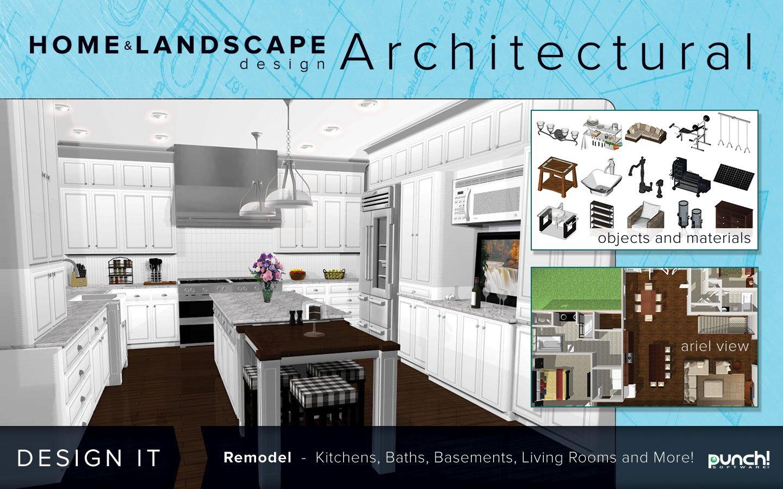 Amazon.com: Punch! Home & Landscape Design Architectural Series v18 ...