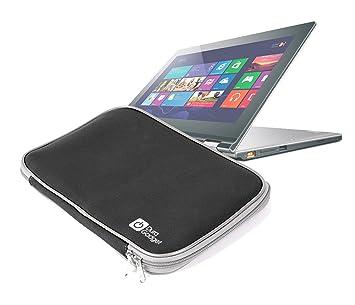 DURAGADGET Funda Negra De Neopreno Para El Ordenador Portátil Lenovo Ideapad Yoga 11S- Resistente Al Agua: Amazon.es: Electrónica