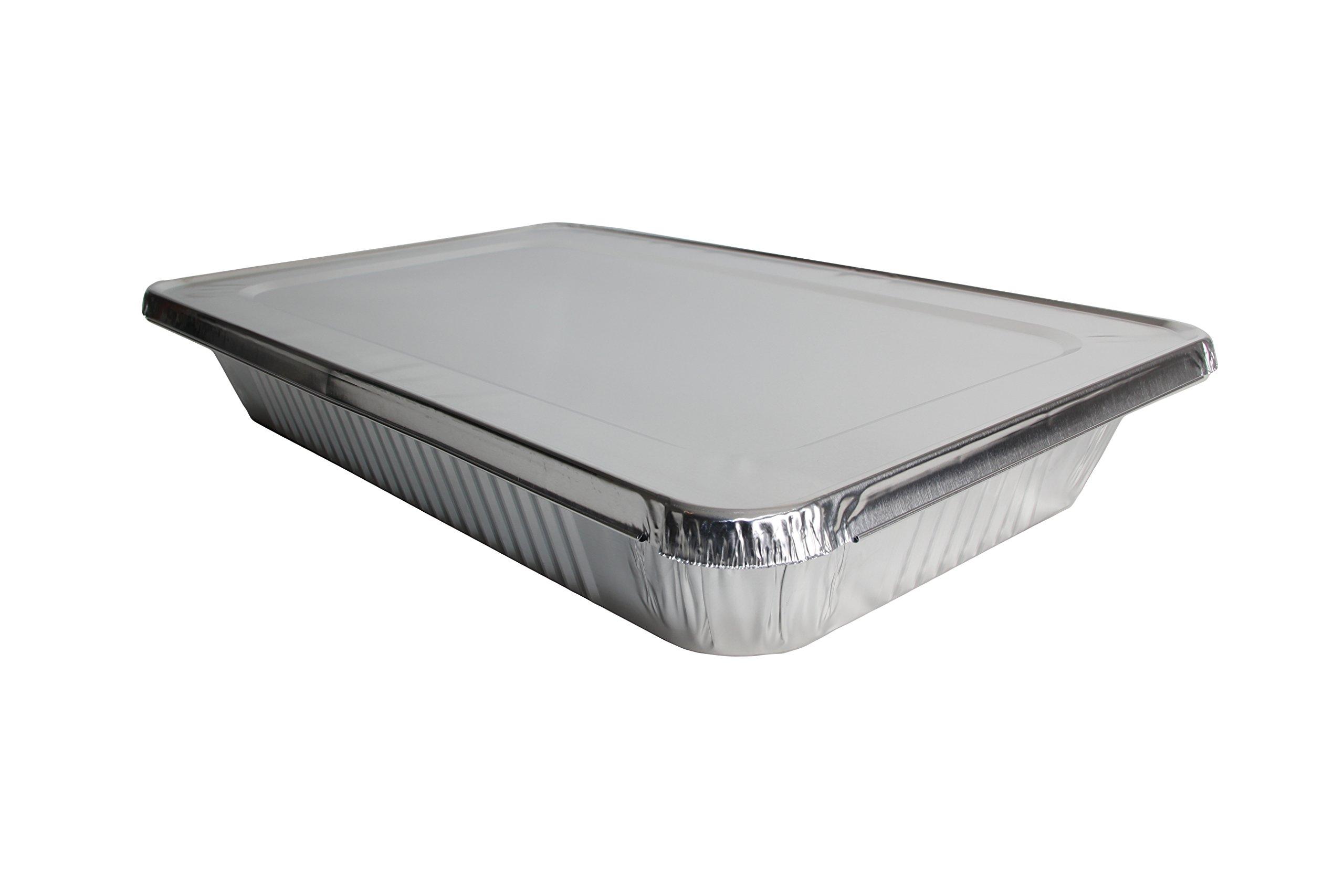 Ehomea2z Full Size Deep Disposable Aluminum Foil Steam