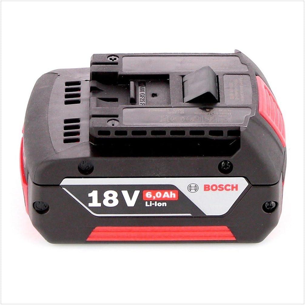0,620 Kg con Caja de cart/ón Bosch Home and Garden 1600A004ZN Bosch 1600A004ZN-Bater/ía 6,0 Ah 18 V Sistema CoolPack
