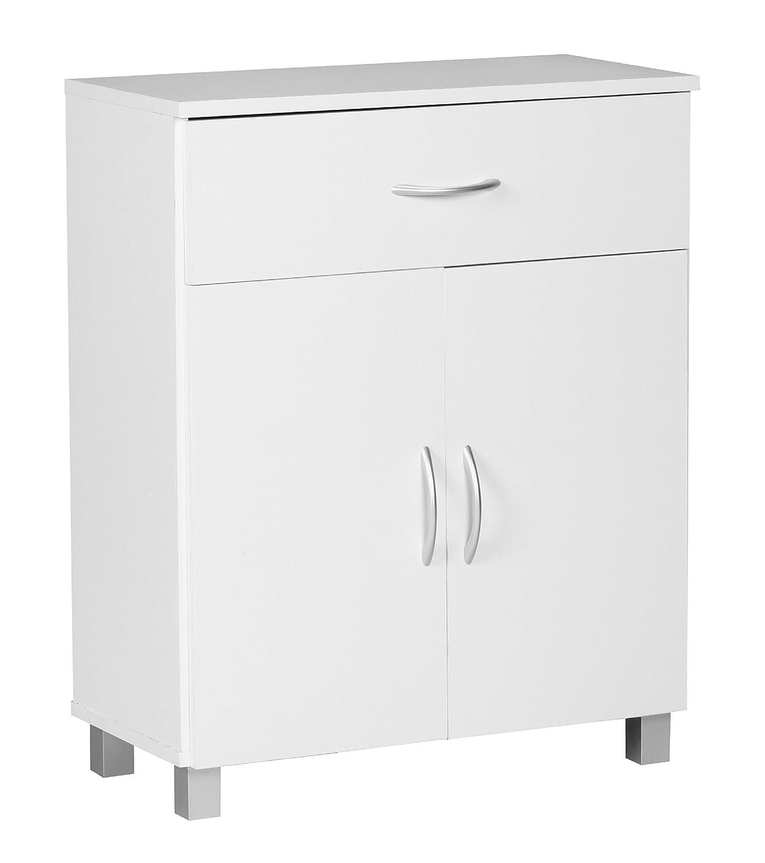 Wohnling, Credenza, Bianco (Weiß ) Bianco (Weiß) WL1.336