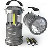 HeroBeam LED Lantern V2.0 with Flashlight - Latest COB Technology emits 300 LUMENS! - Collapsible Camp Lamp - Great…
