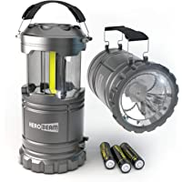 2 x LED Lantern V2.0 with Flashlight - The ORIGINAL Lantern/Flashlight Combo. 2020 Tech (350 LUMENS) - Collapsible Camp…