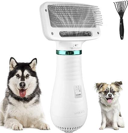 Cepillo para Perros y Gatos, Secador para Perros, Pienes para Perros Temperatura Ajustable (kupet) (BP09A): Amazon.es: Belleza