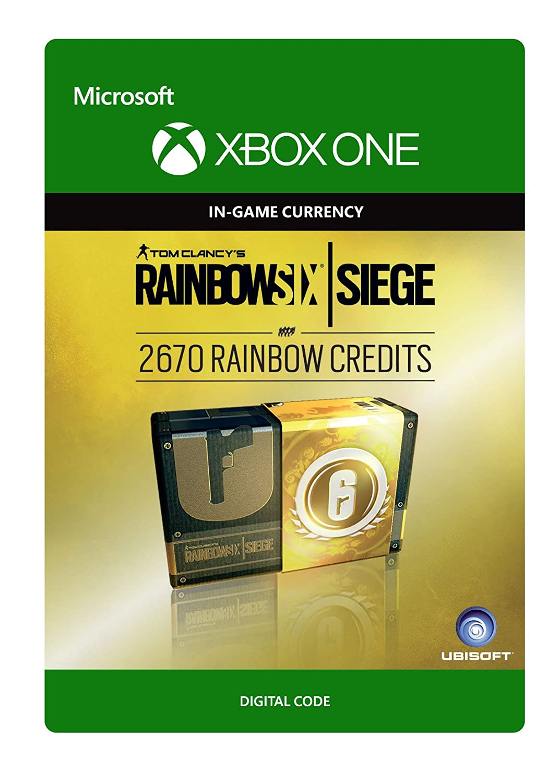 Tom Clancy's Rainbow Six Siege Currency pack 2670 Rainbow