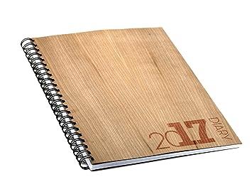 Absolu Wood - Agenda 2017 internacional - Tapa de madera de ...