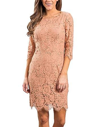 3/4 Sleeve Cocktail Dresses
