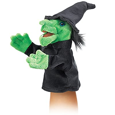 Folkmanis Little Witch Hand Puppet: Toys & Games [5Bkhe0201305]