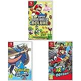 Nintendo Mario Kart 8 Deluxe + Super Mario Maker 2 + Pokémon ...